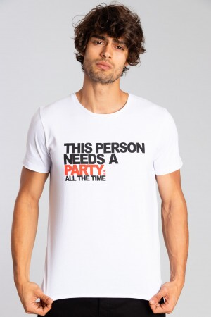 Camiseta Person Party