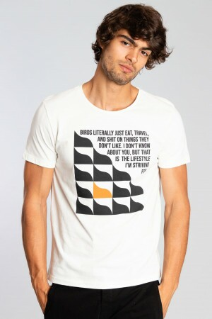 Camiseta Geometric Wave