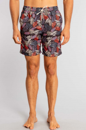 Shorts Agua Red Leaf